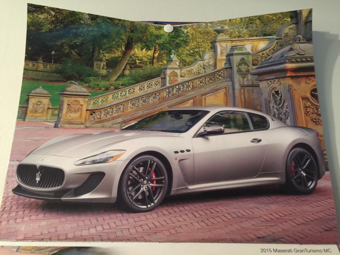 2015 Maserati Gran Turismo MC