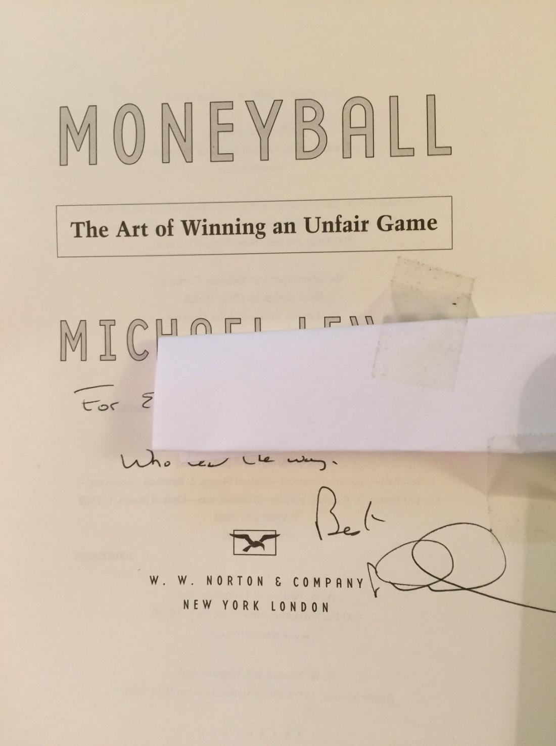 Moneyball Sig Encore